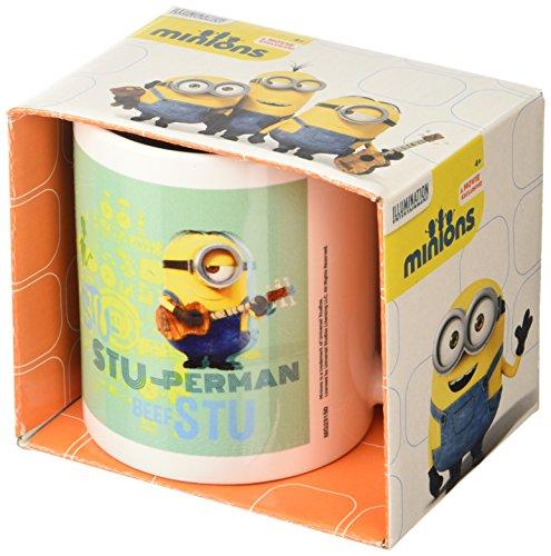 """Taza de cerámica de minion de """"Stuart"""", Multi-color"""
