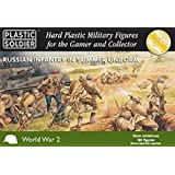 15mm WWII - Russian: Russian Infantry in Summer Uniform (130) by Plastic Soldier Company