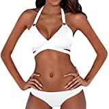 SANFASHION Frauen Bandage Bikini Push-up Multiple Stil Sammlung Badeanzug Baden Zweiteilige Set Bademode