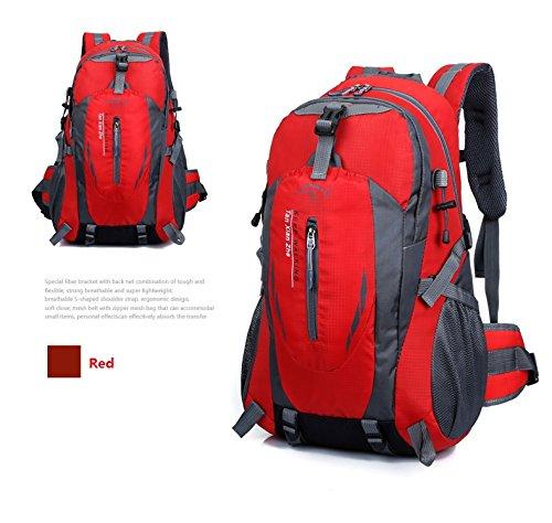Imagen de  de marcha, senderismo  y bolsas camping viaje trekking  para escalada montaña red, 40l  alternativa