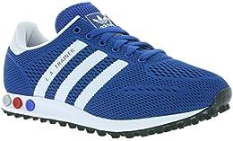 adidas trainer rosse blu