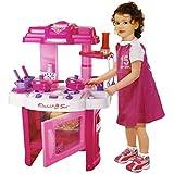 Jack Royal Kitchen Play Set For Kids Roll Play Kitchen Set With Led Lights & Sound (Multi Color)