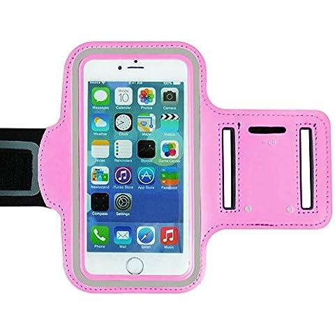 Ambielly Sport Armband modo di allenamento della copertura di sport di ginnastica Pennello cassa del bracciale di superficie braccio porta Banda per iPhone 6 Plus