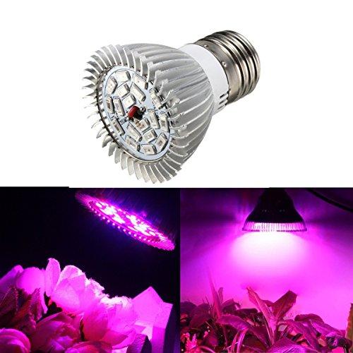SOLMORE E27 LED Pflanzenlampe Pflanzenleuchte Pflanzen Lampen Grow Licht Wachsen Lichter Pflanzenlicht Leuchtmittel Licht Gewächshaus 8W
