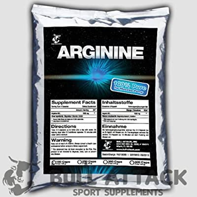L-Arginine HCL - MASSIVE 180 TABLETS Pack, 1000mg Serving - BODY BUILDING Amino Acid - 1st CLASS P&P