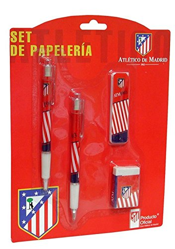 Atlético De Madrid  – Set de papelería  (escritura / estuches)