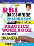 Kiran's RBI Grade – B Officer's Online Exam Phase – I Objective Type Practice Work Book  - 1902