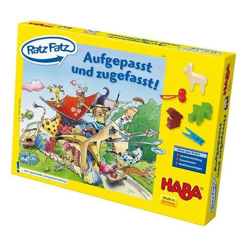 Haba 4566 - Ratz Fatz, Mitmach-Spiel