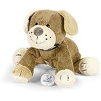 Sterntaler Spieluhr, Stofftier Hund Hanno, Integriertes Spielwerk, Braun preisvergleich bei kleinkindspielzeugpreise.eu