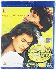 Dilwale Dulhaniya Le Jayenge (1995) [Blu-ray] (Shahrukh Khan - Kajol / Indian Cinema / Bollywood Movies / Hindi Film) [UK Import]