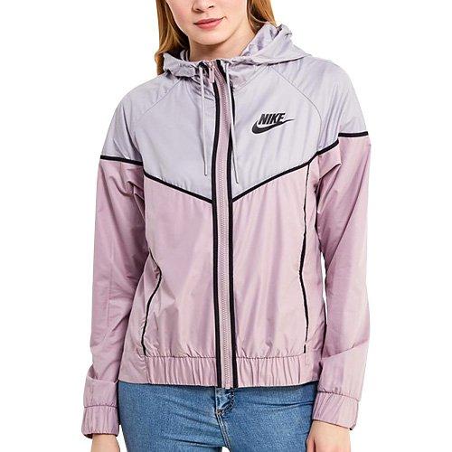 Nike 883495-695 Veste Femme, Rose élémentaire/Gris atmosphère, FR (Taille Fabricant : XS)