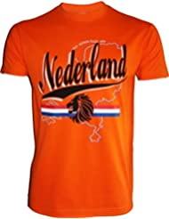 T-shirt PAYS-BAS - Football supporter NEDERLAND - Taille adulte homme