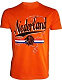 T-shirt PAYS-BAS - Football supporter NEDERLAND - Taille adulte homme XL