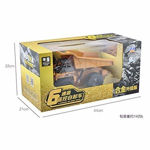 RC Auto kaufen LKW Bild 4: s-idee® S1540 Rc Kipper 6 Kanal Muldenkipper Tieflader Truck 1:18 mit 2,4 GHz kippbare Ladefläche Huina 1540*
