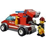 LEGO City 60004 - Feuerwehr-Hauptquartier...Vergleich