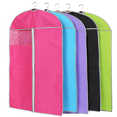 butterme-6-pcs-breathable-non-woven-clothes-dust-cover-dust-bag-garment-storage-bags-with-clear-wind