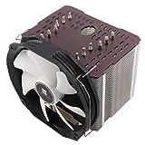 Thermalright ARO-M14 Grey AMD Ryzen CPU-Kühler, 6 x 6mm Heatpipes, TY 147A PWM Lüfter (300-1.300 U/min, 15-21 DBA, 28,7-125 m³/h), Chill Factor Wärmeleitpaste voraufgetragen - grau