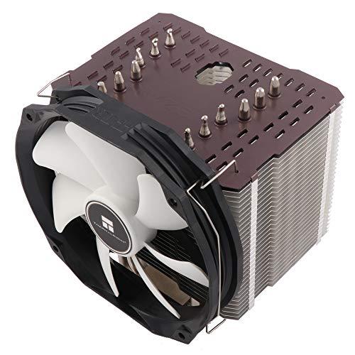 Thermalright ARO-M14 Grey AMD Ryzen CPU-Kühler, 6 x 6mm Heatpipes, TY 147A PWM Lüfter (300-1.300 U/min, 15-21 dBa, 28,7-125 m³/h), Chill Factor Wärmeleitpaste voraufgetragen - grau -