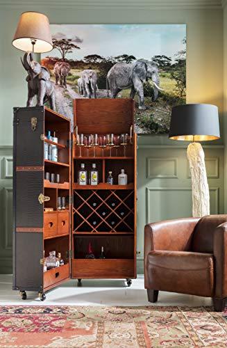 Kare Design Schrankkoffer Bar Colonial – Barkoffer im Kolonialstil