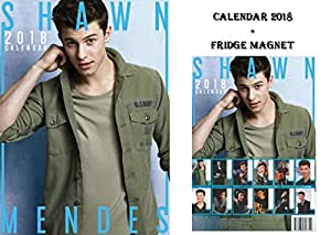 shawn mendes kalender 2018 shawn mendes. Black Bedroom Furniture Sets. Home Design Ideas