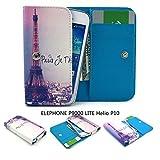 ZeWoo PU Leder Brieftasche für Elephone P9000 LITE (5,5