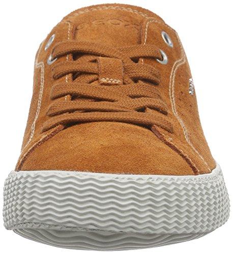 Geox U Smart H, Baskets Basses homme Marron - Braun (RUSTC6037)