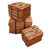 Größe + Menge wählbar Holzschindeln aus Lärche Lärchenschindeln (20cm-18 Breitenmeter)