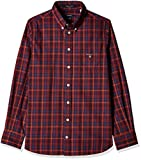 Gant Boys' Shirt (GBSEF0008_Mahogny Red_...