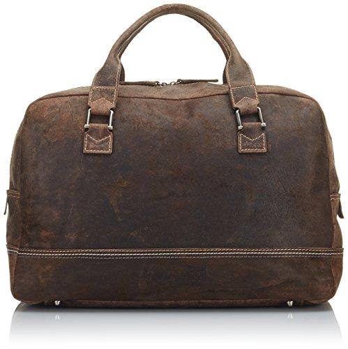 Bugatti Bags Borsone, Kensington PUR, 50 cm, Marrone  marrone,
