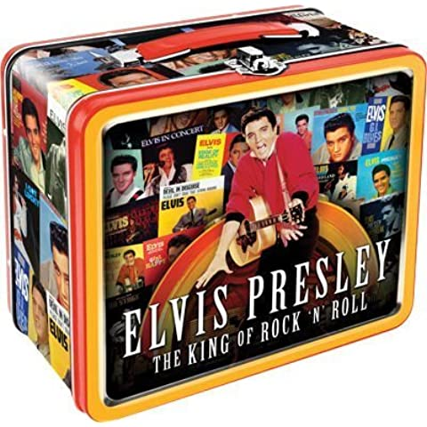 Lunch Box - Elvis - Presley Albums Tin Case Licensed Gifts Toys (Elvis Presley Tin)
