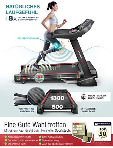 Sportstech F37 Profi Laufband - 3