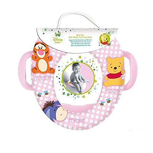 Winnie The Pooh Kids Soft Padded Potty Toilet Training Seat With Handles