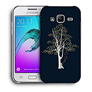 Snoogg Boy Tree Designer Protective Back Case Cover For SAMSUNG GALAXY J2
