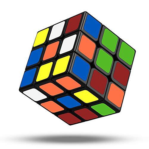 Jooheli Zauberwürfel, 3x3 Speed Cube Magic Cube 3x3x3 Magischer würfel fit Speed Cubing für Kinder Erwachsene Anfänger Lebendigen Farben - 3 X 3 Mini