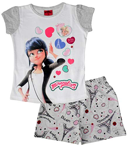Miraculous ladybug -  pigiama due pezzi - ragazza grau 9 anni