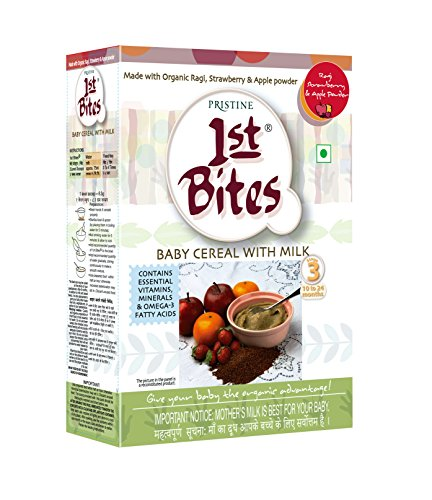 1st Bites – Ragi, Strawberry & Apple Powder (10 Months – 24 Months) Stage – 3, 300g