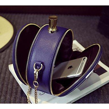 SUNNY KEY-Borsa a tracolla @ Donna Borsa a tracolla PU (Poliuretano) Per tutte le stagioni Casual Cerniera Albicocca Viola Viola chiaro , apricot light purple