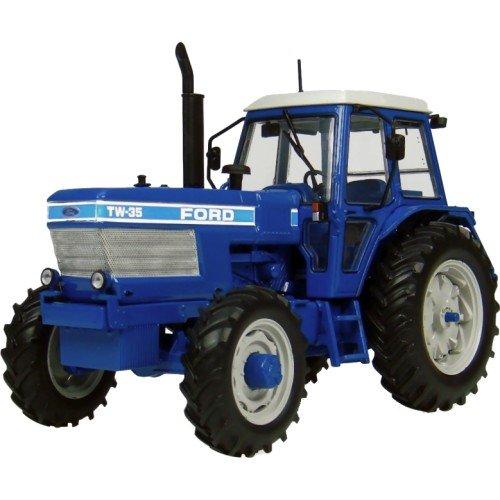 Universal Hobbies 4027 - Sammlermodell Ford TW-35 Traktor 4 x 4 1983 1/32 aus Metall