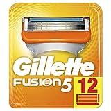 Gillette Fusion5 Rasierklingen für Männer, 1er Pack (1 x 12 Stück) -