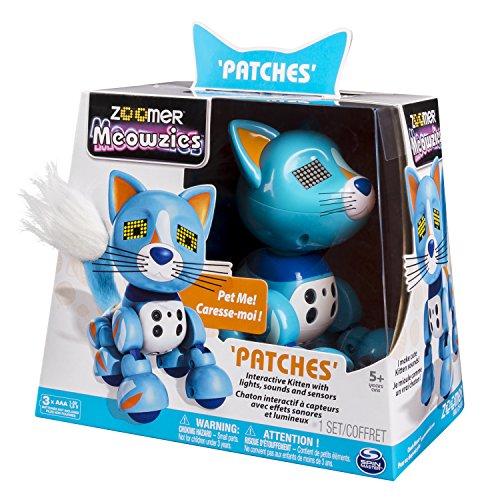 Zoomer Meowzies 6029011 Robotick Cat Robot de Entretenimiento - Robots de Entretenimiento (AAA, USB)