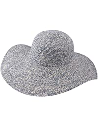Modissima - Cappello a Falda Larga Ripiegabile Tesa Larga Donna Lady  caplana merinoe ac7ce6833f4c