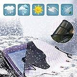 Auto Frontscheibenabdeckung windschutzscheibe 193*157*126C 3 Magnet für Wintergegen Schnee, EIS, Frost, Staub, Sonne Faltbare Abnehmbare Scheibenabdeckung Faltbare