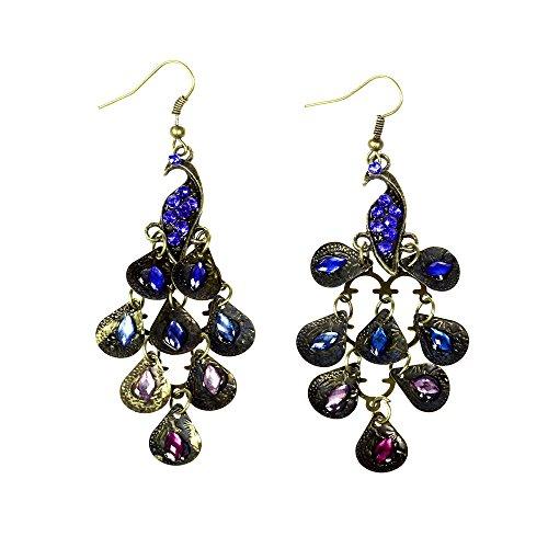 bodya-1-paire-bronzen-cristal-vintage-epoxy-bleu-paon-plume-long-dangle-boucles-doreilles-declaratio