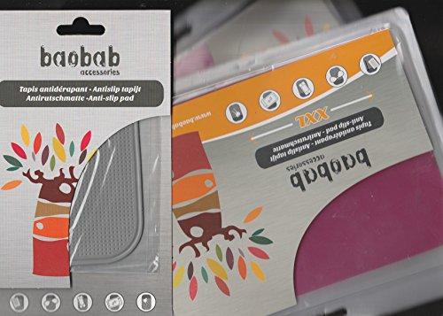 """Preisvergleich Produktbild '2Teppich XXL Fuchsia Antirutschbeschichtung + 1Small grau für Gehäuse, fixer Festplatte, Multi USB, Verschiedenes Zubehör auf der Turm ohne Risiko Verrutschen, Marke """"Baobab Accessories hochwertige ausgestattet)."""
