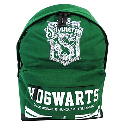 HARRY POTTER SLYTHERIN BOLSO FREETIME ESCOLAR CHICO/A TIEMPO LIBRE VERDE