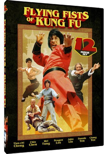 Flying Fists of Kung Fu - 12 Movie Set: 7 Steps of Kung Fu - 18 Fatal Strikes - Wu Tang Magic Kick + 9 more! by Tien-Chi Cheng