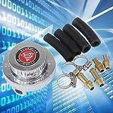 Gunmetal Fuel Pressure Regulator Adjustable Universal for Carburetor Engine