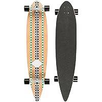 Ultrasport Longboard Carving Skateboard per Cruising in Città e al Parco, Tavola Completa