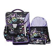 Schneiders Set de sacs scolaires, bleu (Bleu) - 10110304