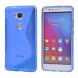 Huawei Honor 5X Hülle,COOLKE Gel TPU Silicone Soft